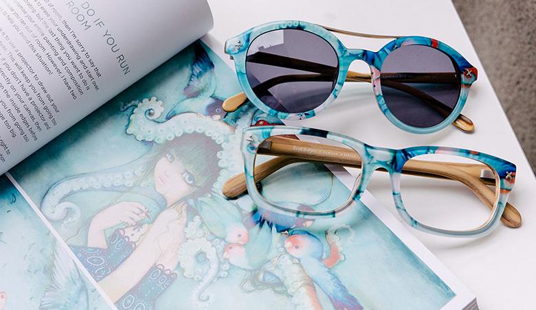 Camilla d'Errico Designs Surrealist Eyewear Collection