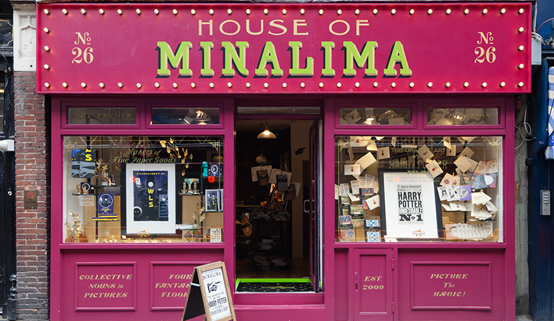 House of MinaLima hosts The Graphic Art of the Harry Potter Films