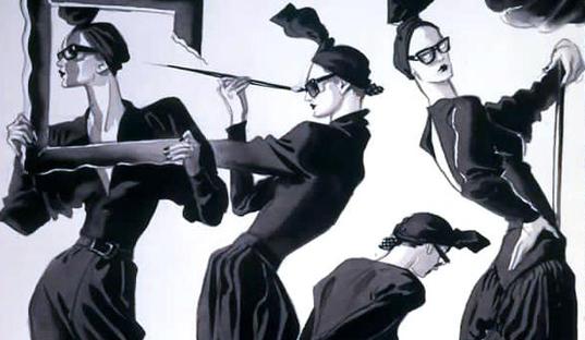Fashion Fridays ~ Antonio Lopez (1943–1987)