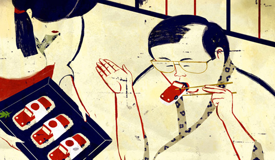 Emiliano Ponzi Illustrators Lounge