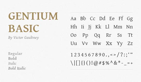 gentium-basic