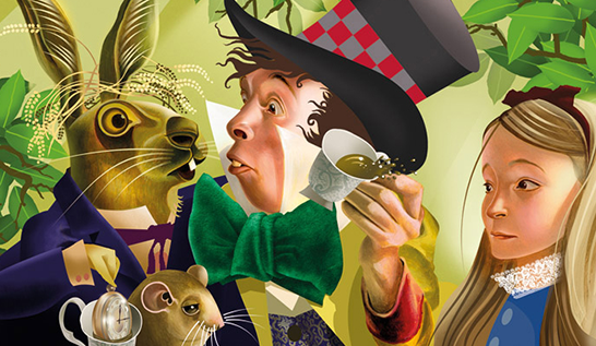 Grahame Baker-Smith and  Alice's Adventures in Wonderland