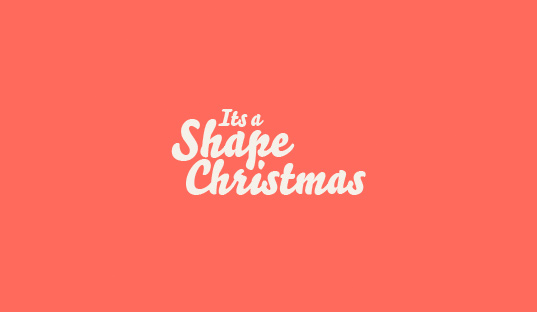 It's a Shape Christmas