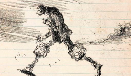 The Worlds of Mervyn Peake at the British Library