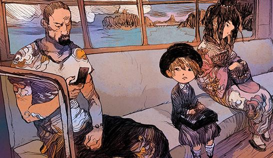 Manga Mondays ~ Nicolas Nemiri