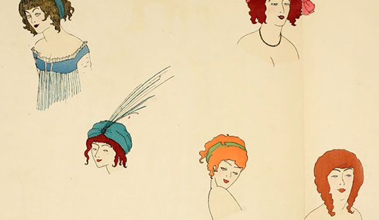 Fashion Fridays ~ Paul Iribe (1883–1935)