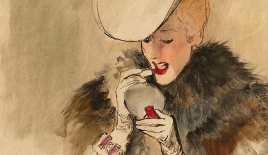 Fashion Fridays ~ René Bouché (1905 – 1963)