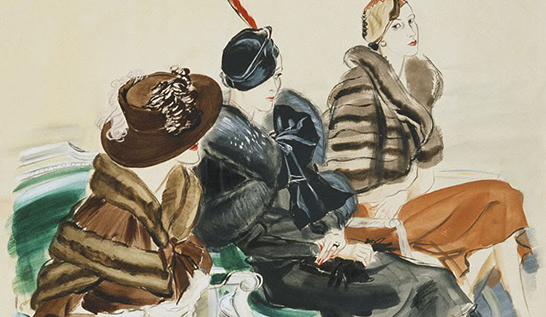 Fashion Fridays ~ René Bouët-Willaumez (1900 – 1979)