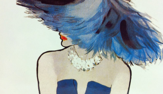 Fashion Fridays ~ René Gruau  (1909-2004)