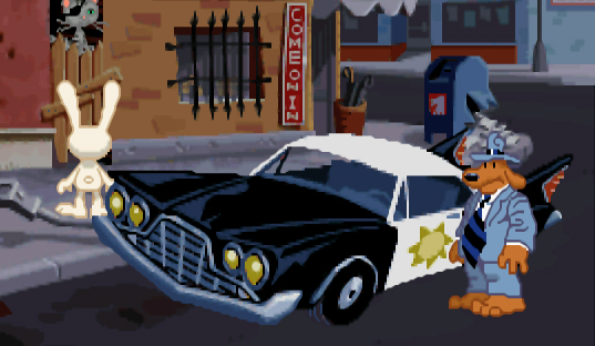 Mojo Art Blog: The Unofficial LucasArts Gallery