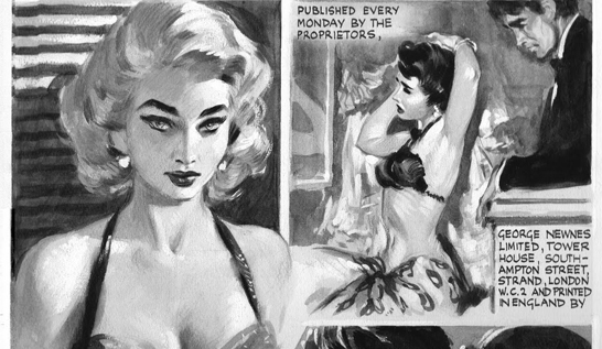 Book Review ~ Sirens: The Pin-Up Art of David Wright